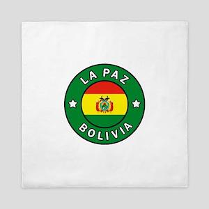 La Paz Bolivia Queen Duvet
