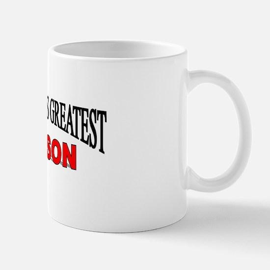 """""""The World's Greatest Godson"""" Mug"""