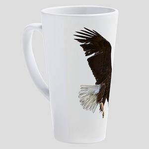 Amazing Bald Eagle 17 oz Latte Mug
