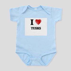 I love Tusks Body Suit
