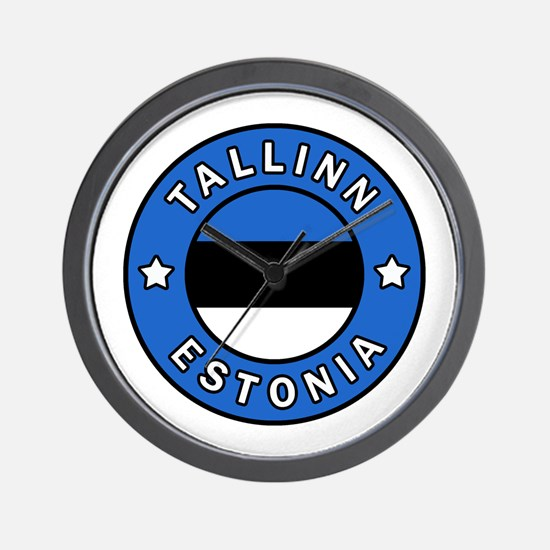 Cute Estonia Wall Clock