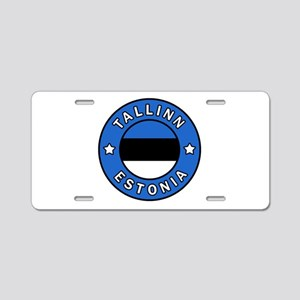 Tallinn Aluminum License Plate
