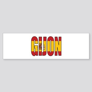 Gijon Bumper Sticker