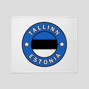 Tallinn Throw Blanket