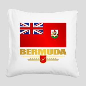 Bermuda Square Canvas Pillow