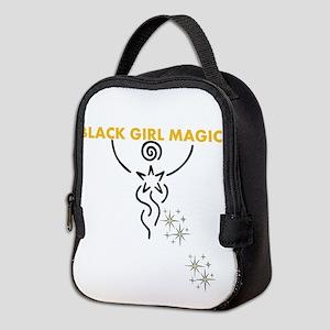 Black Girl Magic Neoprene Lunch Bag