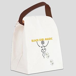 Black Girl Magic Canvas Lunch Bag