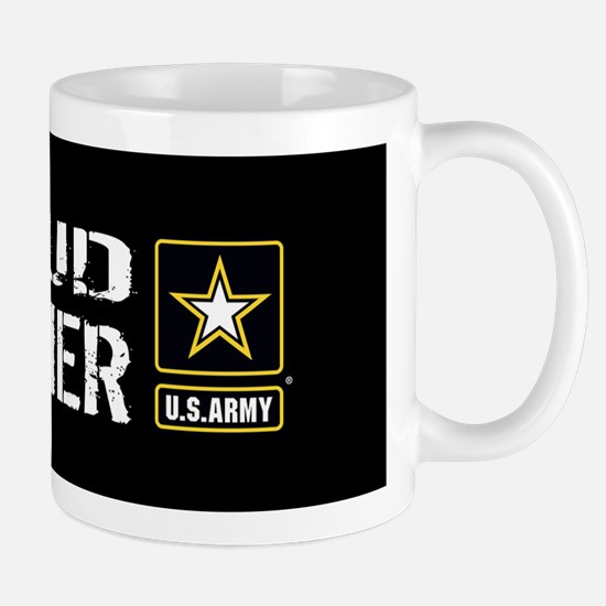 U.S. Army: Proud Brother (Black) Mug