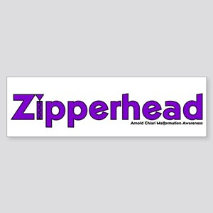 Zipperhead Bumper Sticker