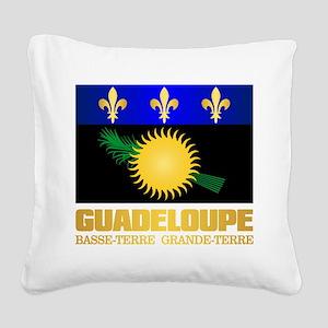 Guadeloupe Square Canvas Pillow
