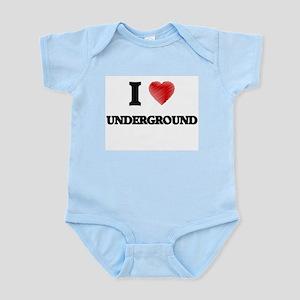 I love Underground Body Suit