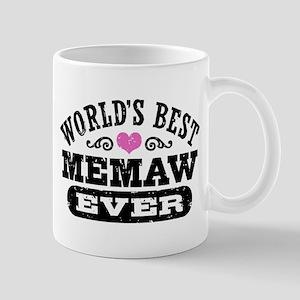 World's Best MeMaw Ever Mug