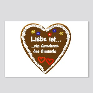 Liebe ist... 5 Postcards (Package of 8)