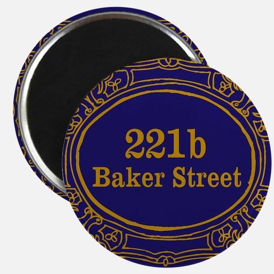 221b Baker St Magnets