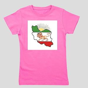 Iran Flag-Map & Sun T-Shirt