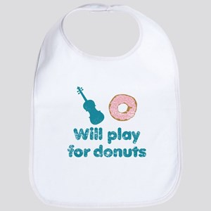 Will Play for Donuts Bib