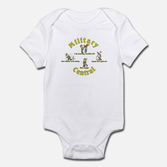 Military Central.Animal Capers.:-) Infant Bodysuit