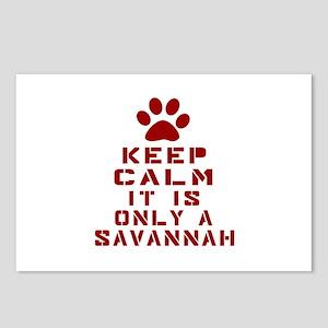 Keep Calm It Is Savannah Postcards (Package of 8)