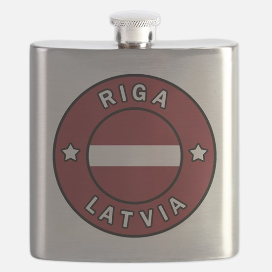 Unique Latvia Flask