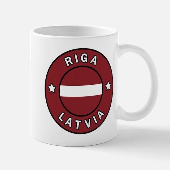 Riga Latvia Mugs