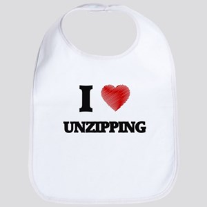 I love Unzipping Bib
