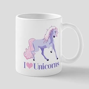 I Heart Unicorns Large Mugs