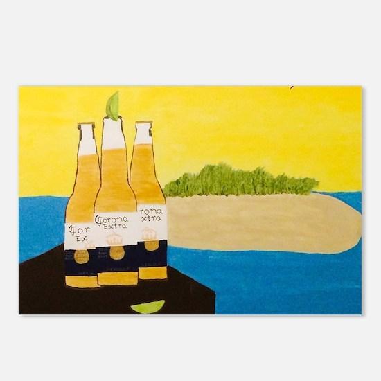Cool Beers Postcards (Package of 8)