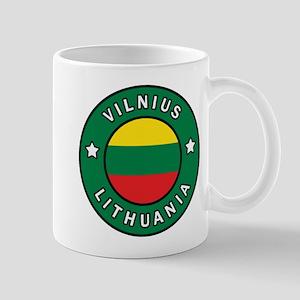 Vilnius Lithuania Mugs