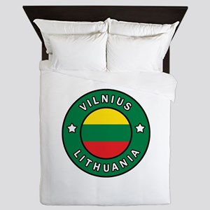 Vilnius Lithuania Queen Duvet