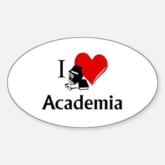 I Heart Academia Decal