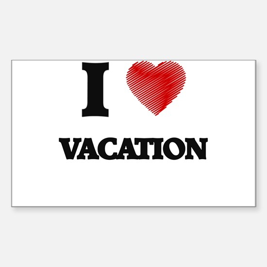 I love Vacation Decal