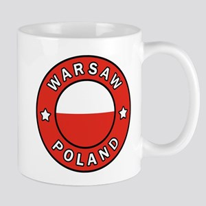 Warsaw Poland Mugs