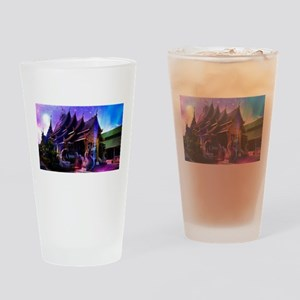 Throughout Time and Space Drinking Glass