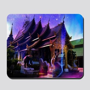 Throughout Time and Space Mousepad
