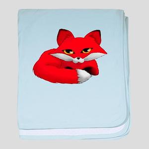 Todd the fox kit baby blanket