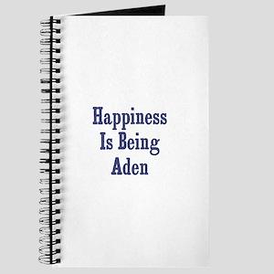 Happiness is being Aden Journal