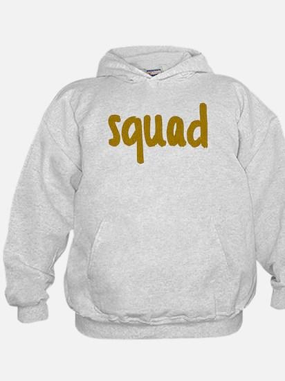 Glitter Squad Goals Hoodie