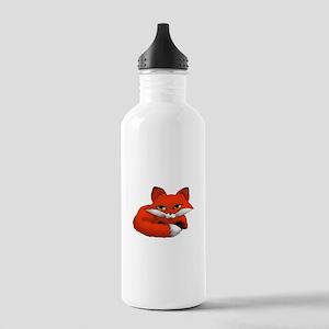 Todd the fox kit Water Bottle