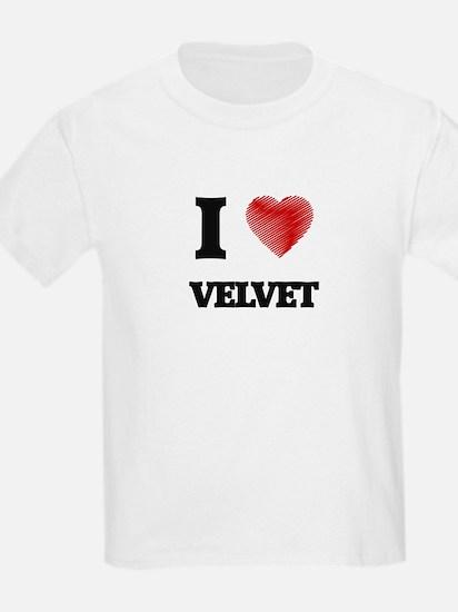 I love Velvet T-Shirt