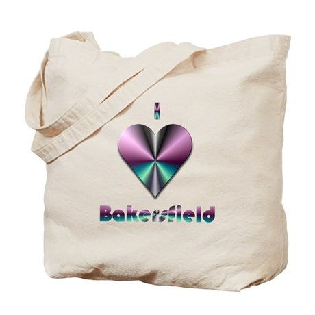 I Love Bakersfield #2 Tote Bag