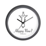 Happy Now? Wall Clock