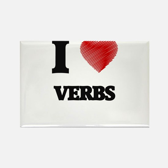 I love Verbs Magnets