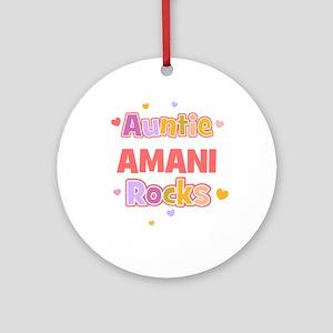 Amani Ornament (Round)