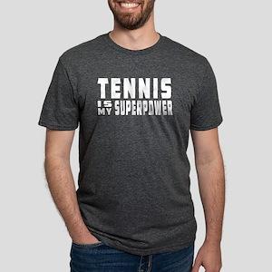 Tennis Is My Superpower Women's Dark T-Shirt