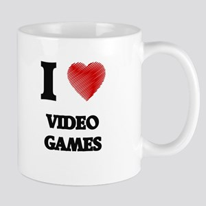 I love Video Games Mugs