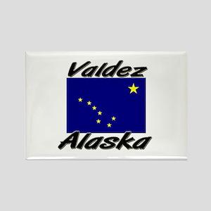 Valdez Alaska Rectangle Magnet