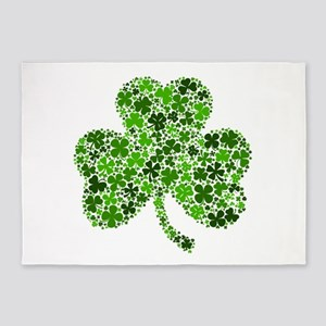 Shamrock of Shamrocks 5'x7'Area Rug