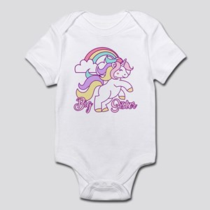 Big Sister Unicorn Infant Bodysuit