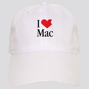 I Love Mac heart products Cap