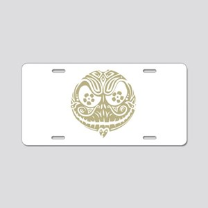 Jack Scary Face Aluminum License Plate